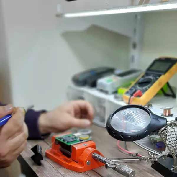 تعمیرات دستگاه کارتخوان - پادیاو پی