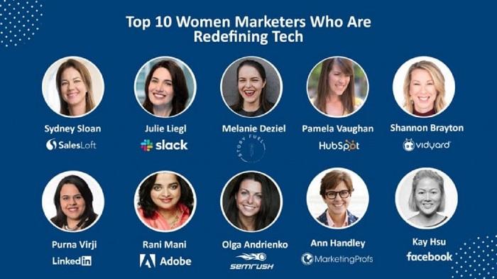 top 10 women marketers